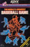 The World's Greatest Baseball Game Commodore 64 Front Cover