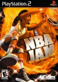 NBA Jam PlayStation 2 Front Cover