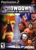 Showdown: Legends of Wrestling PlayStation 2 Front Cover