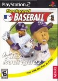 Backyard Baseball PlayStation 2 Front Cover