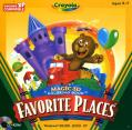 Crayola Magic 3D Colouring Book: Favourite Places Windows Front Cover