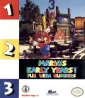 Mario's Early Years: Fun with Numbers DOS Front Cover