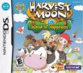 Harvest Moon DS: Island of Happiness Nintendo DS Front Cover