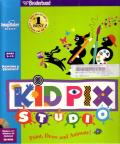Kid Pix Studio Macintosh Front Cover