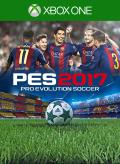 PES 2017: Pro Evolution Soccer Xbox One Front Cover Old marketplace design