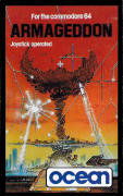 Armageddon Commodore 64 Front Cover