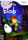 A Boy and His Blob Wii Front Cover