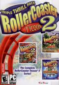 RollerCoaster Tycoon 2: Triple Thrill Pack Windows Front Cover