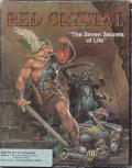 The Red Crystal: The Seven Secrets of Life DOS Front Cover