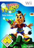 Agent Hugo: Hula Holiday Wii Front Cover