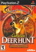 Cabela's Deer Hunt: 2004 Season PlayStation 2 Front Cover