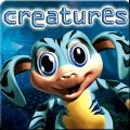 Creatures: Raised in Space PlayStation 3 Front Cover