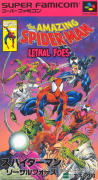 The Amazing Spider-Man: Lethal Foes SNES Front Cover