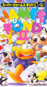 James Pond 2: Codename: RoboCod SNES Front Cover