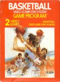 Basketball Atari 2600 Front Cover