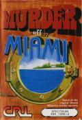 Murder off Miami ZX Spectrum Front Cover