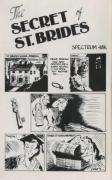 The Secret of St. Brides ZX Spectrum Front Cover