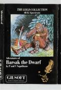 Adventures of Barsak the Dwarf ZX Spectrum Front Cover