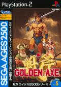 Sega Ages 2500: Vol.5 - Golden Axe PlayStation 2 Front Cover