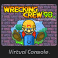 Wrecking Crew '98 Wii U Front Cover