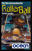 Rollerball Commodore 64 Front Cover