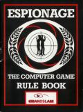 Espionage Amstrad CPC Manual Front cover.
