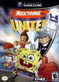 Nicktoons Unite! GameCube Front Cover