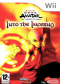 Avatar: The Last Airbender - Into the Inferno Wii Front Cover