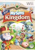 MySims Kingdom Wii Front Cover