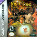 The Lord of the Rings: The Fellowship of the Ring Game Boy Advance Front Cover