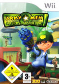 Army Men: Soldiers of Misfortune Wii Front Cover