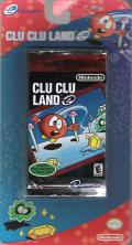 Clu Clu Land Game Boy Advance Front Cover