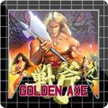Golden Axe PlayStation 3 Front Cover