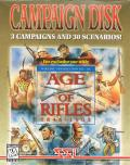 Wargame Construction Set III: Age of Rifles 1846-1905 - Campaign Disk DOS Front Cover