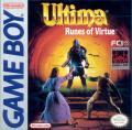 Ultima: Runes of Virtue Game Boy Front Cover