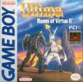 Ultima: Runes of Virtue II Game Boy Front Cover