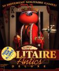 Solitaire Antics Deluxe Macintosh Front Cover
