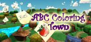 ABC Coloring Town Windows Front Cover