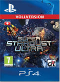 Super Stardust Ultra PlayStation 4 Front Cover