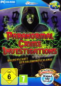 Paranormal Crime Investigations: Brotherhood of the Crescent Snake Windows Front Cover