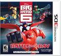 Big Hero 6: Battle In The Bay Nintendo 3DS Front Cover