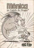 Mônica no Castelo do Dragão SEGA Master System Manual Front