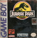 Jurassic Park Game Boy Front Cover