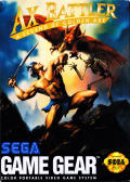 Ax Battler: A Legend of Golden Axe Game Gear Front Cover