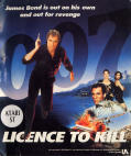 007: Licence to Kill Atari ST Front Cover