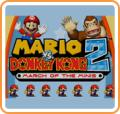 Mario vs. Donkey Kong 2: March of the Minis Wii U Front Cover