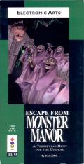 Escape from Monster Manor 3DO Front Cover