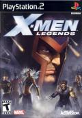X-Men: Legends PlayStation 2 Front Cover