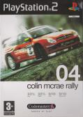 Colin McRae Rally 04 PlayStation 2 Front Cover