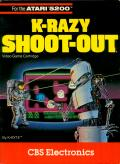 K-Razy Shoot-Out Atari 5200 Front Cover